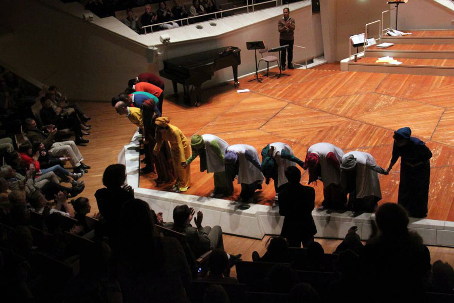 Concert at the Berlin Philharmonie